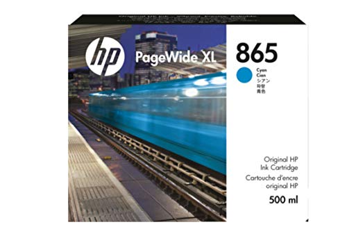 HP 865 500 ml Cian PageWide XL Ink Crtg