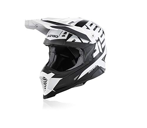 Acerbis Helm Impact X-Racer Vtr schwarz/weiß m