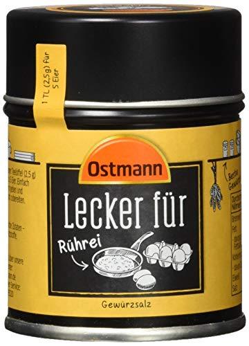 Ostmann Lecker für Rührei - mühelos und schnell zum köstlichen Frühstücksklassiker, 4er Pack (4 x 70 g)