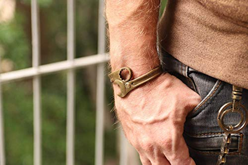 Wrench spanner bracelet, biker bracelet gift, silver Motorcycle jewelry, Men brass bangle, Oxidized brass bracelet, handmade jewelry for dad