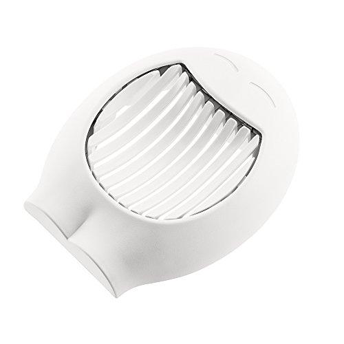 koziol Eierschneider Giovanni, Kunststoff, weiß, 3.7 x 12.5 x 15.3 cm