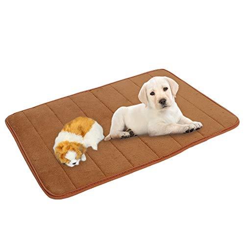 puseky Cama de dormir para mascotas, lavable para mascotas, colchón, almohadilla de dormir, para perro, gato, aire acondicionado, cojín para suelo