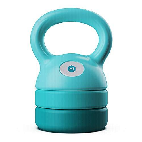 YANZHI Poids de kettlebell réglable 2,3 kg, 3,6 kg, 4,1 kg, 5,4 kg, ensemble de kettlebells, excellent pour l'entraînement de tout le corps et la musculation