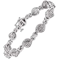 1/4 ct Diamond Tennis Bracelet in Brass