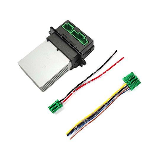 Resistencia de calefacción 6441L2con cable–Repuesto de motor de calefacción para Scenic II, Clio III, 207/1007/207/406/C2/C3/C5, Megane II - 77010483907701207718