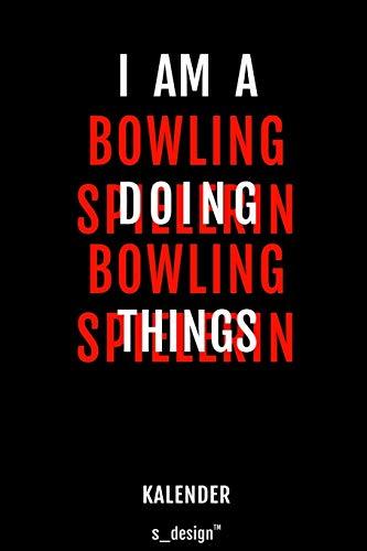 Kalender für Bowling Spieler / Bowling Spielerin: Immerwährender Kalender / 365 Tage Tagebuch / Journal [3 Tage pro Seite] für Notizen, Planung / Planungen / Planer, Erinnerungen, Sprüche