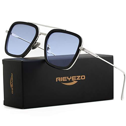 AIEYEZO Tony Stark Eyeglasses for Men and Women