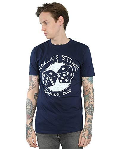 The Rolling Stones Herren Tumbling Dice T-Shirt X-Large Marine