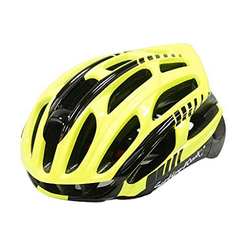 QTQZ Casco de Bicicleta MTB Integrado Unisex Carreras de montaña Bicicleta Ciclismo Gorra de Seguridad Sombrero