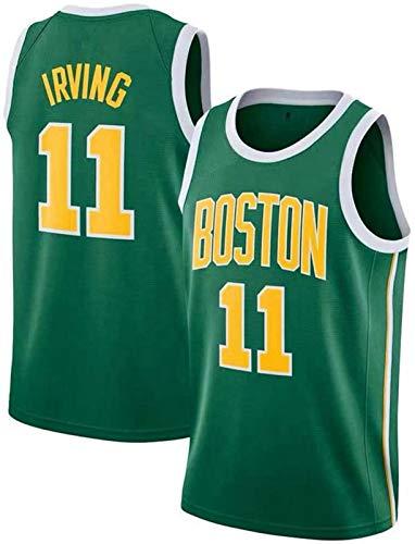 Ropa de baloncesto de los hombres, Celtics de Boston # 11 Kyrie Irving Swingman Nba Jersey, deportes al aire libre Uniformes de baloncesto Camiseta sin mangas Camiseta deportiva Chaleco superior,C,L