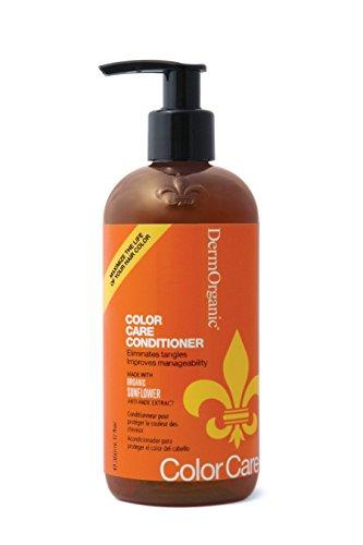 DermOrganic Color Care Conditioner with Sunflower Anti-Fade Extract, 12 fl.oz