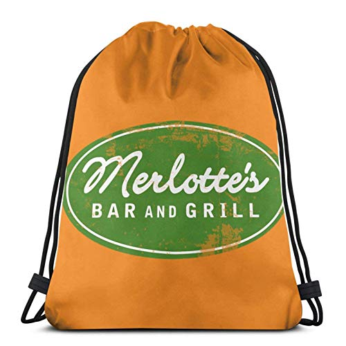 LREFON Kordelzug Merlotte 'S Bar und Grill Training Gymsack