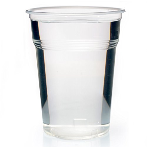 Abena 400 bicchieri di plastica trasparente da 0,5 l, 500 ml