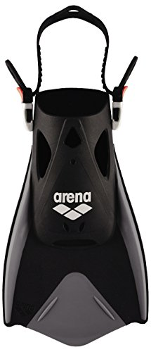 Arena Fitness Fin, Pinne Unisex Adulto, Nero (Silver/Grey/Black), L