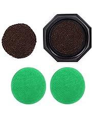 Theepot Pad, Dienblad Duurzaam Bamboe Theepot Mat Theeblad Stevige Textuur voor Cadeau(Brown, blue)