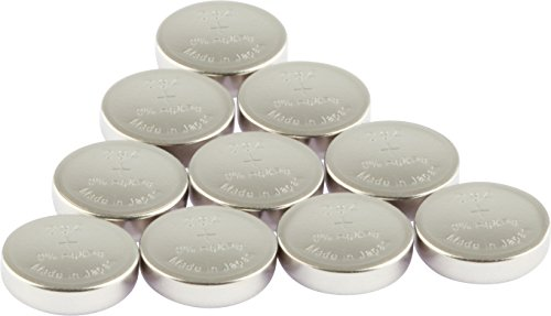 GP Uhrenbatterien 364 Ultra Plus Knopfzellen (Batterie V364 / SR60 / SR621SW) Silber-Oxid ohne Zusatz von Quecksilber und Eisen (0% Hg & Pb), 10 Stück im Multi-Sparpack