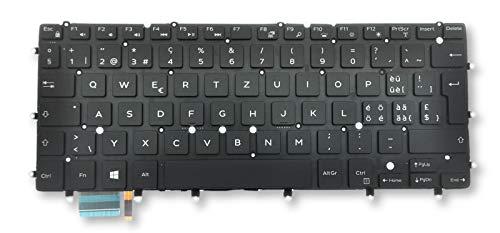 TJL SWISS Ersatz-Tastatur mit Hintergrundbeleuchtung für Dell Inspiron 7347 7348 7352 7353 7359 7547 7548, XPS 13 9343 9350 9360, 5VH6N