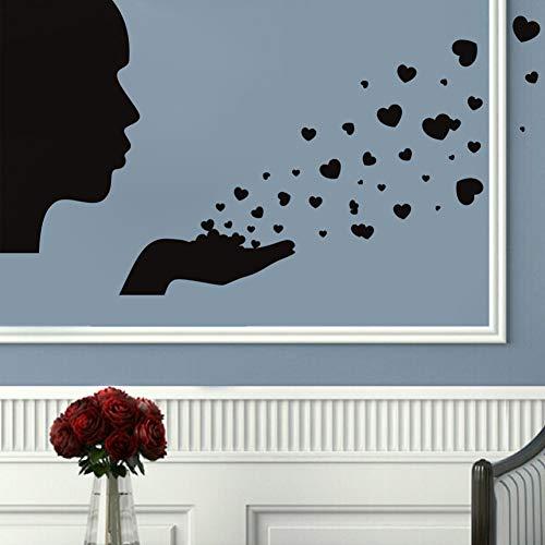 JXLLCD Grappige badkamer glazen deur stickers wandsticker schattige kind meisjes douche sticker verwijderbare waterdichte vinyl decoratie
