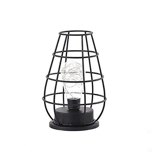 Kindernachtlampje LED-licht retro klassieke ijzeren kunst-LED tafellamp leeslamp nachtlampje slaapkamer lamp bureauverlichting decoratie, lampshade stijl: aparte kruik