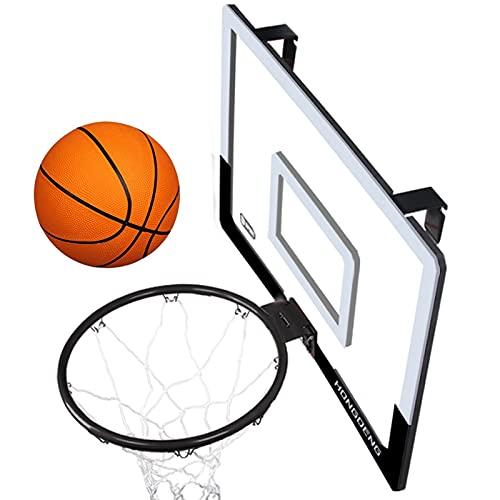 Soporte de baloncesto, soporte de baloncesto portátil montado en la pared, fácil de instalar, deportes juveniles interiores y exteriores, soporte de entrenamiento Slam Dunk