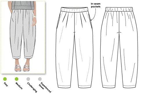 Designer Style Arc Schnittmuster Ethel Pant, Sizes 04-16