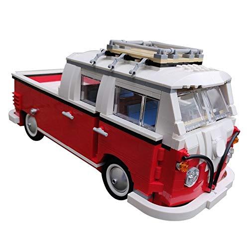 1048 bloques técnicos de construcción de camiones de coche de la ciudad, calle, transporte de escena de vehículo, modelo de bloques de juguetes para niños regalo