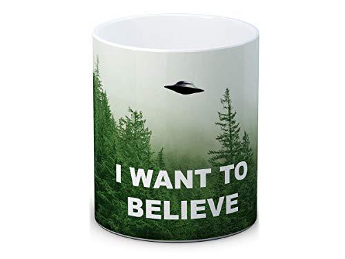 The X Files - I Want To Believe xfiles - Hochwertigen Kaffee Tee Tasse Becher