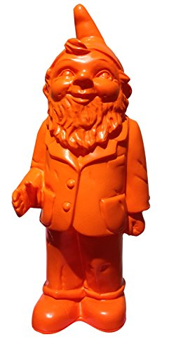 Ottmar Hörl Gartenzwerg, orange
