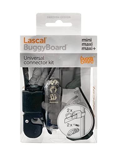 Lascal 19211 BuggyBoard de acoplamiento universal, negro [color del tornillo - gris]