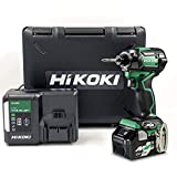 【Amazon.co.jp限定】HiKOKI(ハイコーキ) 第2世代36Vインパクトドライバ アグレッシブグリーン 初回修理保証付き 蓄電池1個 充電器 ケース付き WH36DC(XP)