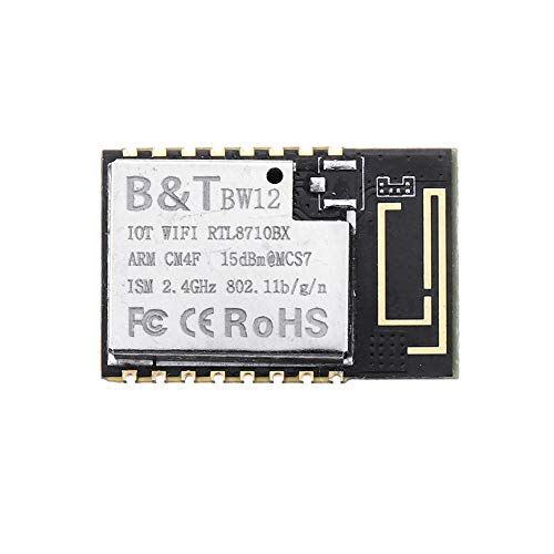 Jill Ernest Modul Drahtloses WiFi-Modul RTL8710BX SoC Drahtloses Transceiver-Modul Wi-Fi Controller IoT for Smart Home