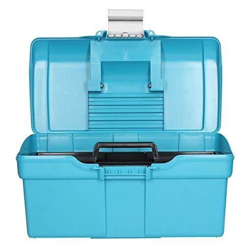 PROTACK GROOMING BOX SMALL 164 - CAPRI BREEZE BLUE/SILVER - PLP0305