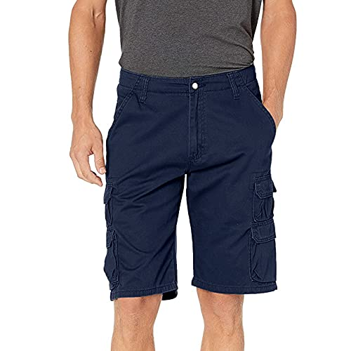 BUZHIDAO Herren Cargo Shorts Sommer Cargohose Kurze mit Multi-Tasche Sweatshorts Jogginghose Laufshorts Sportshorts Männer Cargohose Wandershorts Arbeitsshorts