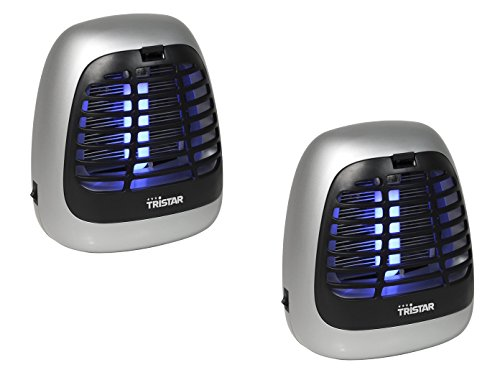 Insektenvernichter mit UV-Lampe im 2er Set ideal fürs Camping geeignet
