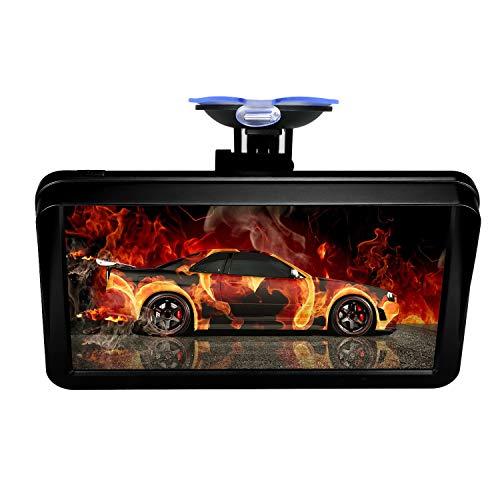 KKmoon GPS para Coche 9 Pulgadas, GPS Navegador Tableta Reproductor de Audio Multimedia,HD Pantalla Táctil 8GB 256MB + Gratis de Mapa