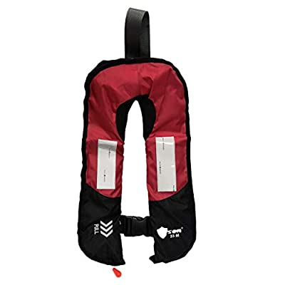 Premium Quality Manual Inflatable Life Jacket Floating Life Vest Inflate Survival Aid PFD Basic New