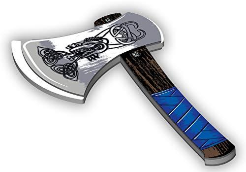 BestSaller (BET50) 5013 Bestsaller EVA Vikings bijl, meerkleurig, één maat