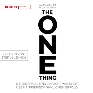 Page de couverture de The One Thing