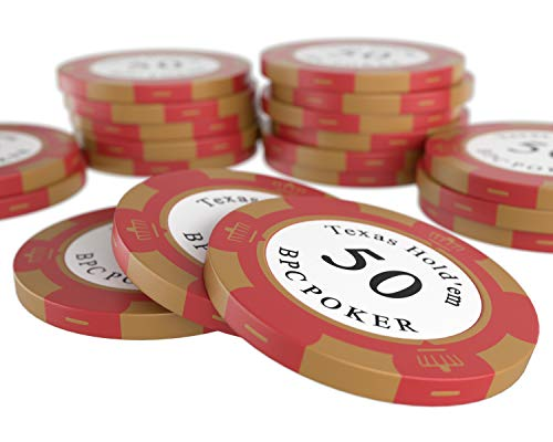 Sharplace Profi Poker Chips Tray f/ür 100 Chips Poker Dealer Buttons