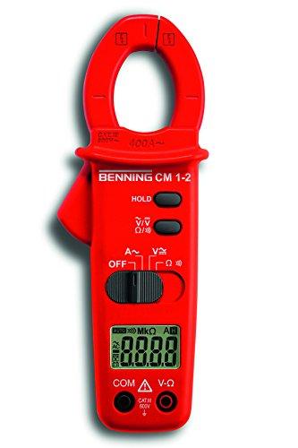 BENNING 044062 CM 1-2 Dig.-Stromzangen-Multimeter, 400 A AC