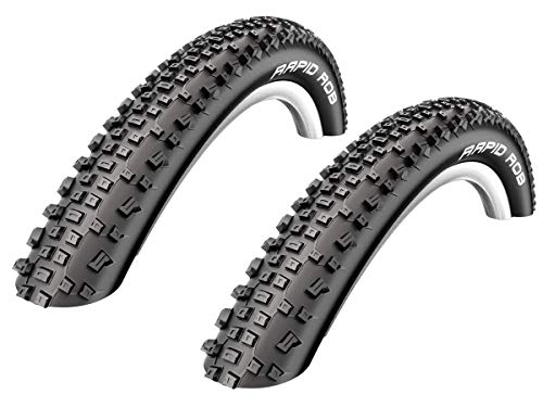 2 x Schwalbe Rapid Rob Neumático de la bicicleta Abrigo Cubierta 29 x 2.25 - 57-622 - 01022905S2