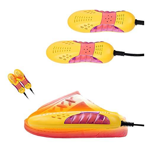 Sarplle Elektrisch Schuhtrockner Fußwärmer Multifunktional 360 ° Trockner für Lederschuhe, Stoffschuhe, Stiefel, Regenstiefel, Handschuhe