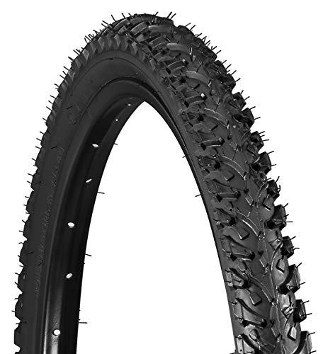 Schwinn Replacement Bike Tire, Mountain Bike, 26 x 1.95-Inch , Black with Carbon Steel Bead