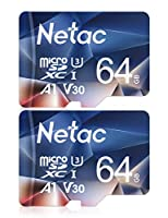 Schede microSD Netac da 64 GB – Set da 2 pezzi