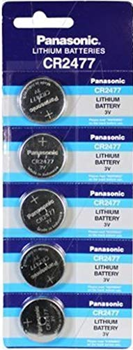 Panasonic CR2477 3V Lithium Cell Battery (5pcs per pack)