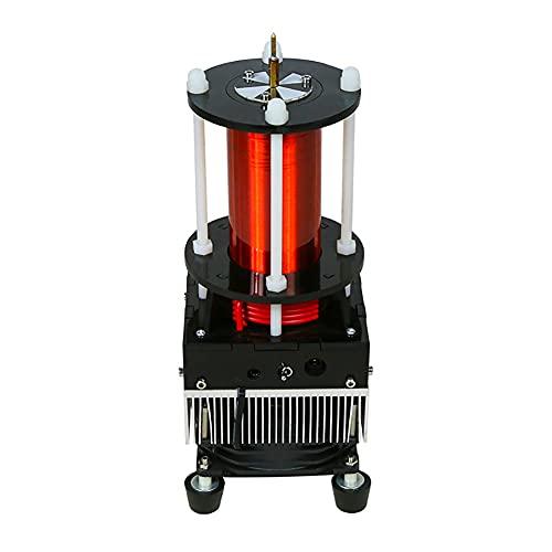 EWGAO Música Tesla Bobina Generador de Alta frecuencia Generador de Encendido Modelo de Rayo Integrado ARC extintor Tesla