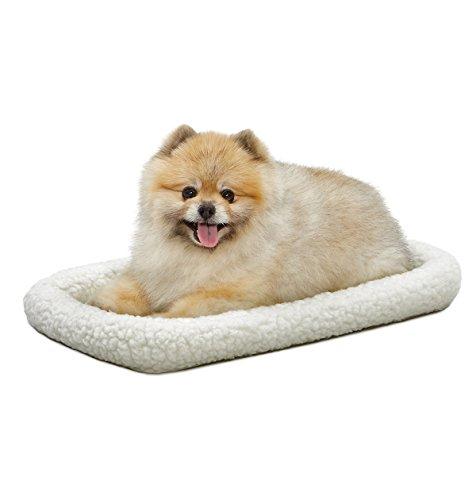 MidWest Homes for Pets Midwest Quiet Time Lit pour Animaux de Compagnie, en Polaire, 55,88 cm x 33,02 cm