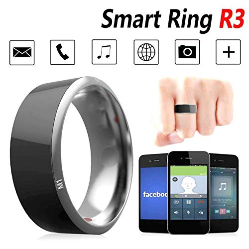 CZX New in 2020, Smart Ring IP68 Waterproof R3, NFC Metal Smart Ring, Smart Ring New Technology, Compatible with Android, iOS System,No.11