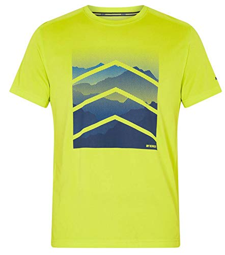 McKINLEY Rakka UX T-Shirt Hommes, 693 Green Lime, FR : M (Taille Fabricant : M)