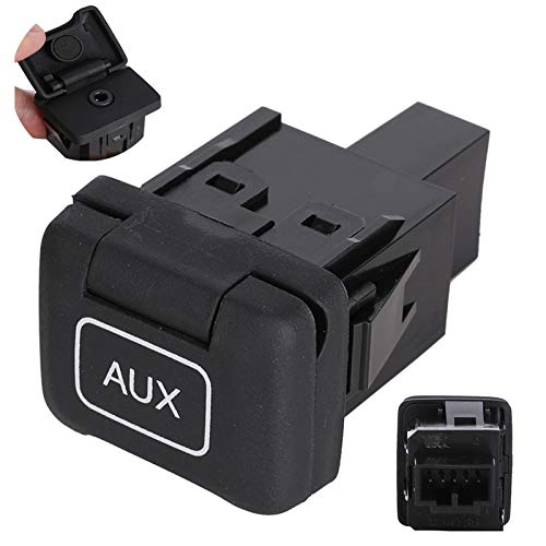 39112-SNA-A01 Aux Port Compatible with Honda Civic 2006-2011 CRV Stereo Adaptor Auxiliary Input Jack | Replaces 39112SNAA01